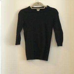 Black J Crew Sweater